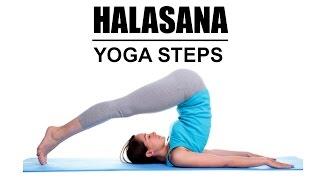 Halasana - Yoga Steps