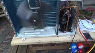 Diy Air To Water Heatpump First Test Run