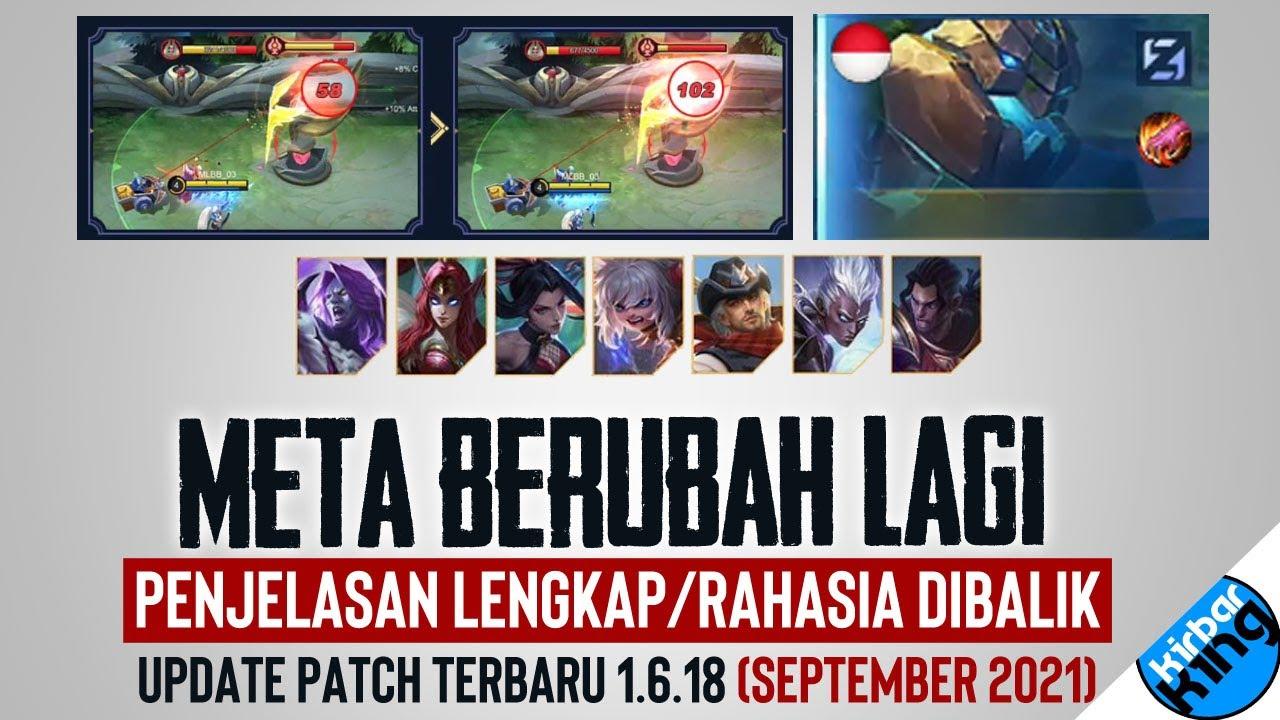 Download META BERUBAH! Rahasia dibalik Update Patch Terbaru 21 September 2021 Mobile Legends