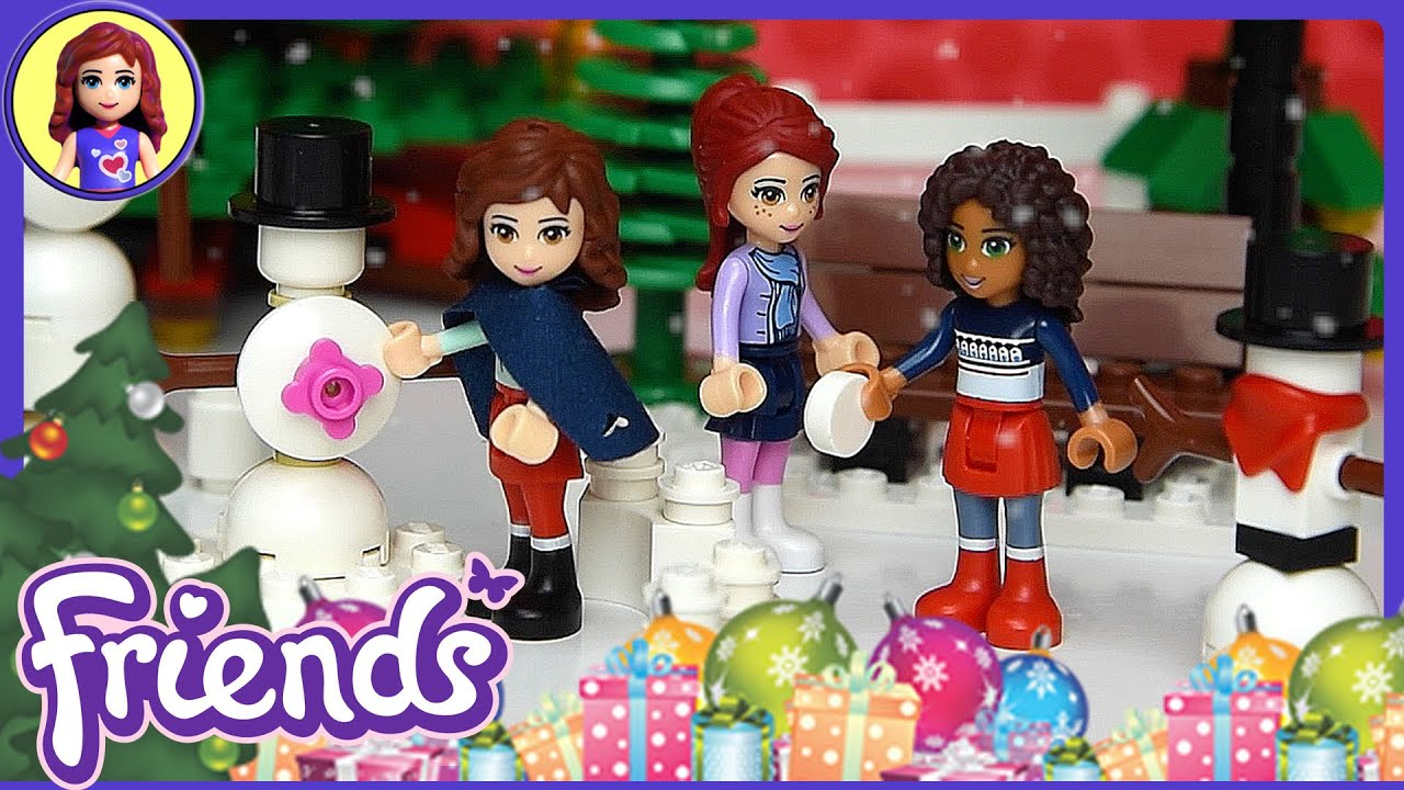 Toys For Friends : Lego friends christmas eve toy story for kids youtube