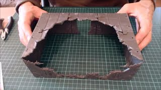 Pushing Mantic Urban Ruins Further (Mantic Deadzone / Battlezones terrain)
