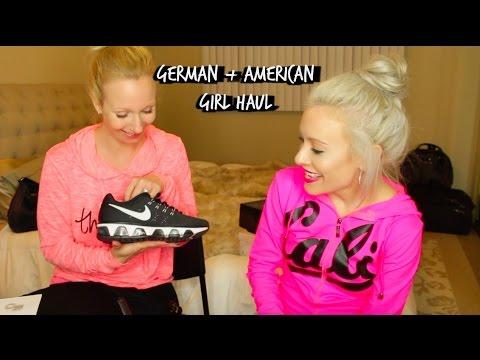 GERMAN + AMERICAN GIRL HAUL! | L.A Fashion District