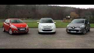 Comparatif – Que vaut encore la Citroën C3 face aux Peugeot 208 et Renault Clio ?