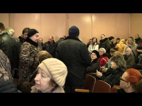 Мнение жителей о транзите.11.02.2017 г, 9 линия, 60.