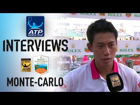 Nishikori Thrilled With SF Victory In Monte-Carlo 2018