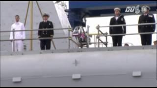 VTC14_Anh ra mắt tàu sân bay mới