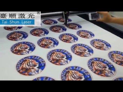 garment shoes accessories application laser cutting emboriedry applique machine