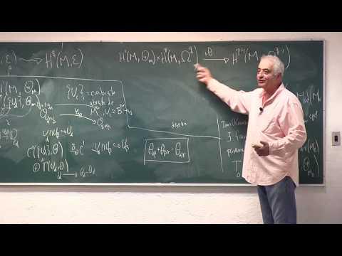 """""""La Teoría de Deformaciones de Kodaira Spencer"""", conferencia de Xavier Gómez Mont"""