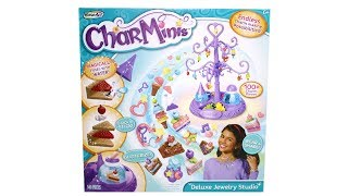 RoseArt CharMinis Deluxe Jewelry Studio Unboxing Toy Review
