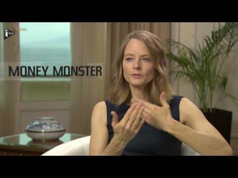 """Jodie Foster, réalisatrice de """"Monster Money"""", se confie à iTELE"""