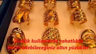 22 Ayar Altın Kadın Yüzükleri Bayan Yüzük Modelleri ve Fiyatları