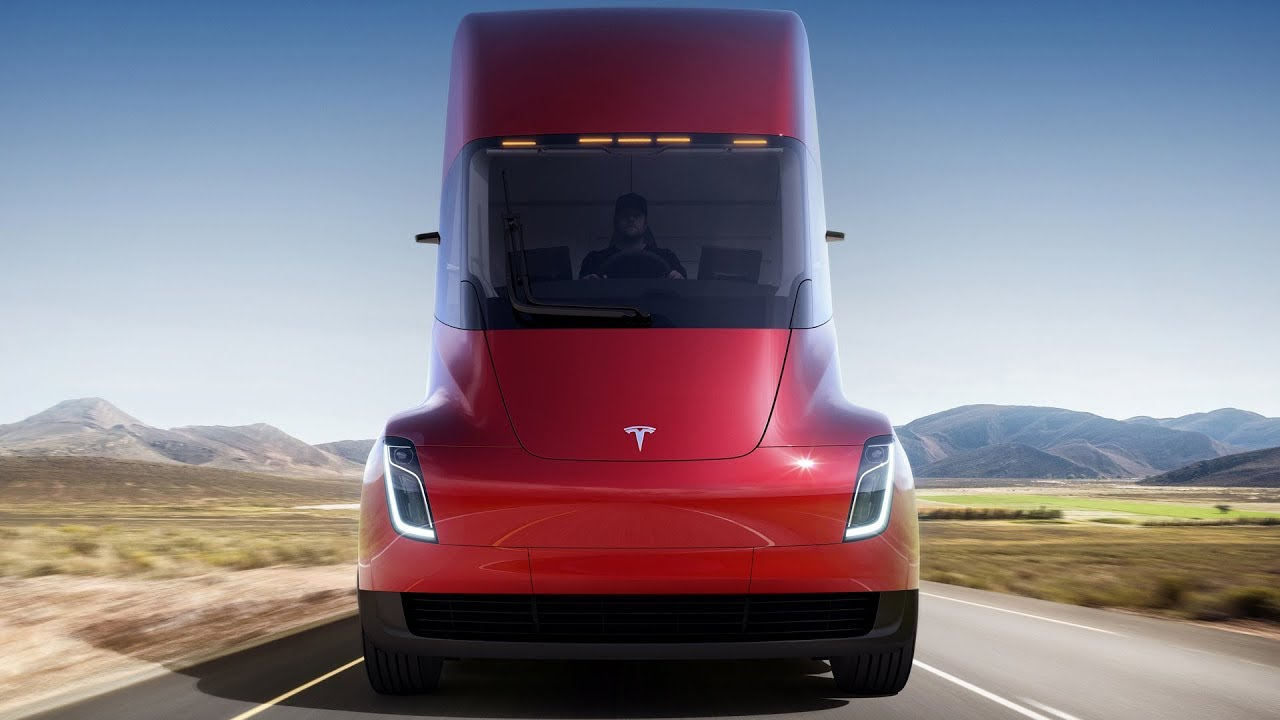 Tesla Semi (2020) Badass Performance Electric Truck - Dauer: 100 Sekunden