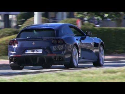 2017 Ferrari GTC4Lusso | FULL ACCELERATION SOUND!