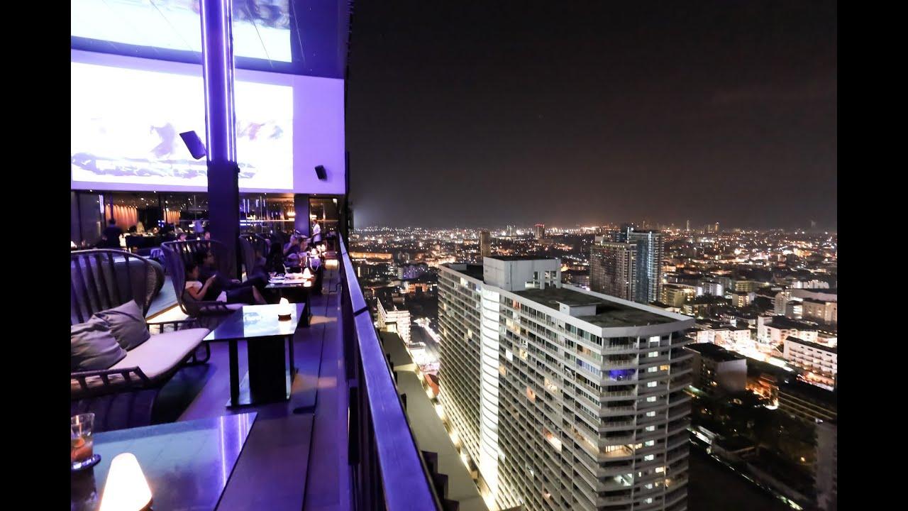 Horizon Roof Top Bar In Hilton Pattaya The Glass House