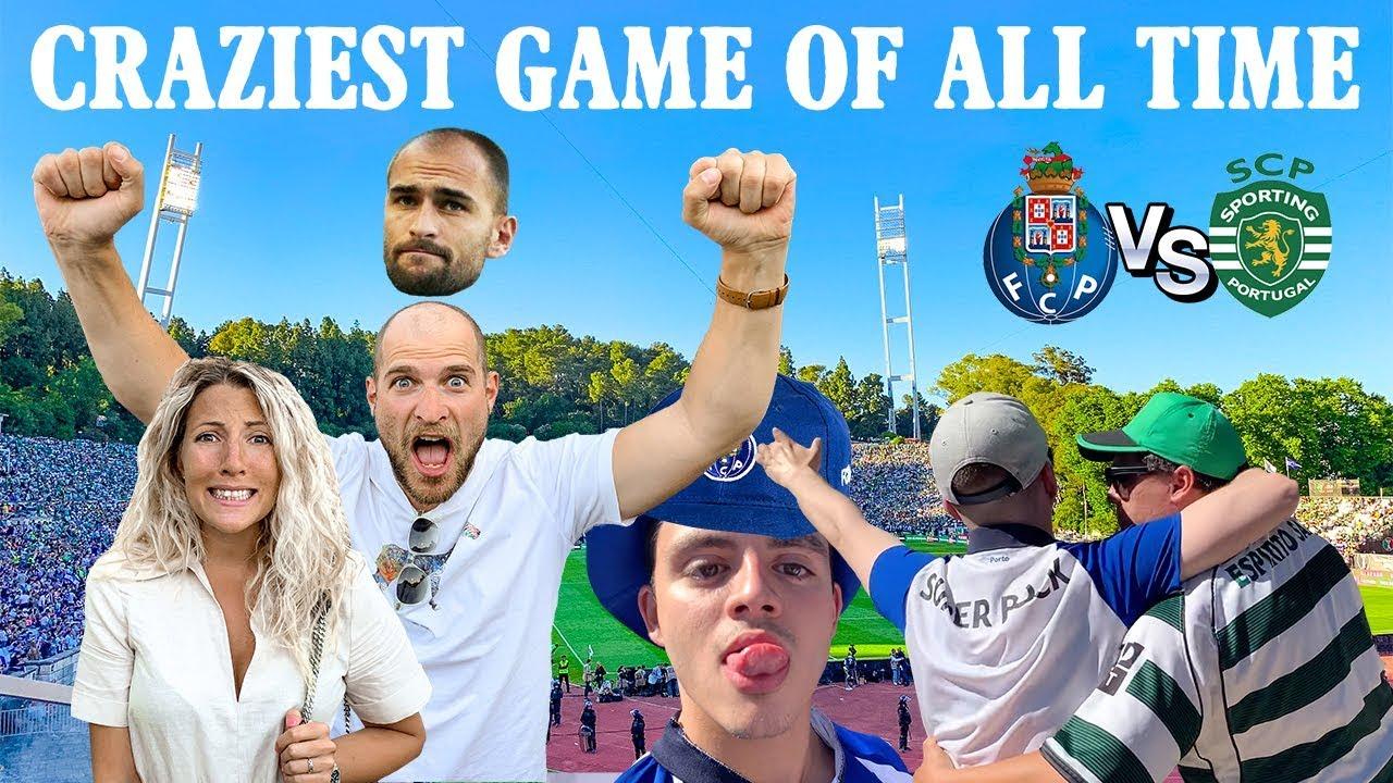 EPIC Final Da Ta U00e7a Sporting Vs FC Porto FULL EXPERIENCE