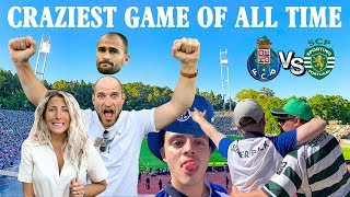 EPIC Final da Taça: Sporting vs FC Porto | FULL EXPERIENCE 🏆
