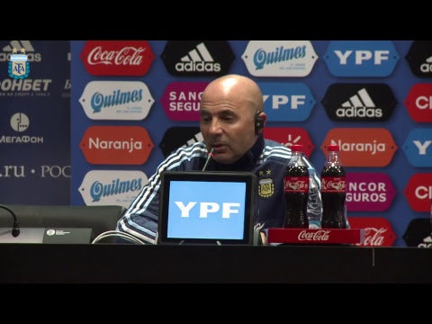 Conferencia de Jorge Sampaoli