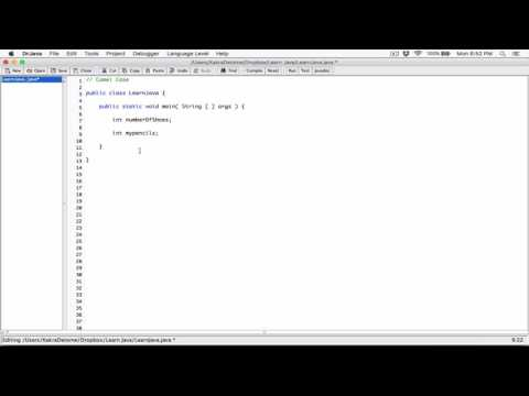 14. Variable naming convention (Camel case) - Learn Java