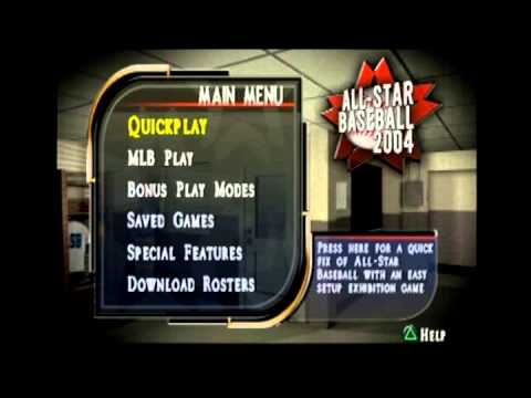 All Star Baseball 2004 Main Menu Theme