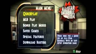 All Star Baseball 2004 Main Menu Theme