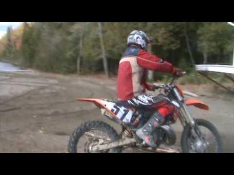 ktm 250 sx 2009 with fmf factory fatty pipe and titanium 2