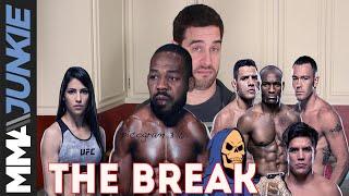 The Break: Jon Jones' conundrum, Woodley vs. Usman confusion, and is T.J. Dillashaw OK?