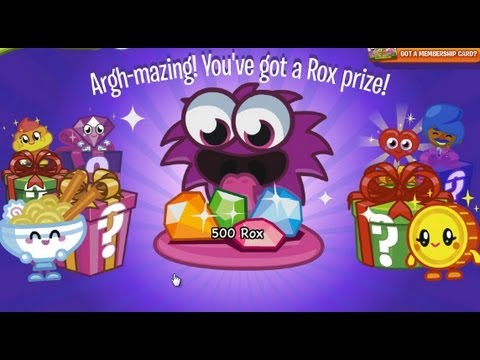 Moshi Monsters Secret Codes March 2013 for Rox and Items