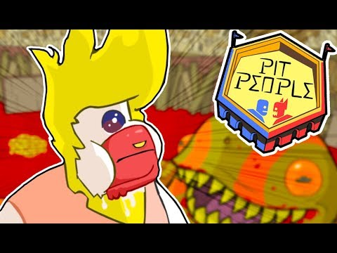 BLOOD LAGOON! | Pit People (Part 5) | Full Release Gameplay, Permadeath Mode