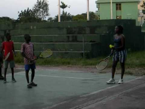 Africa Tennis Aid: Talent Spotting