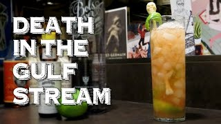 Death In The Gulf Stream - An Ernest Hemingway Original Cocktail With Genever, Lime & Bitters