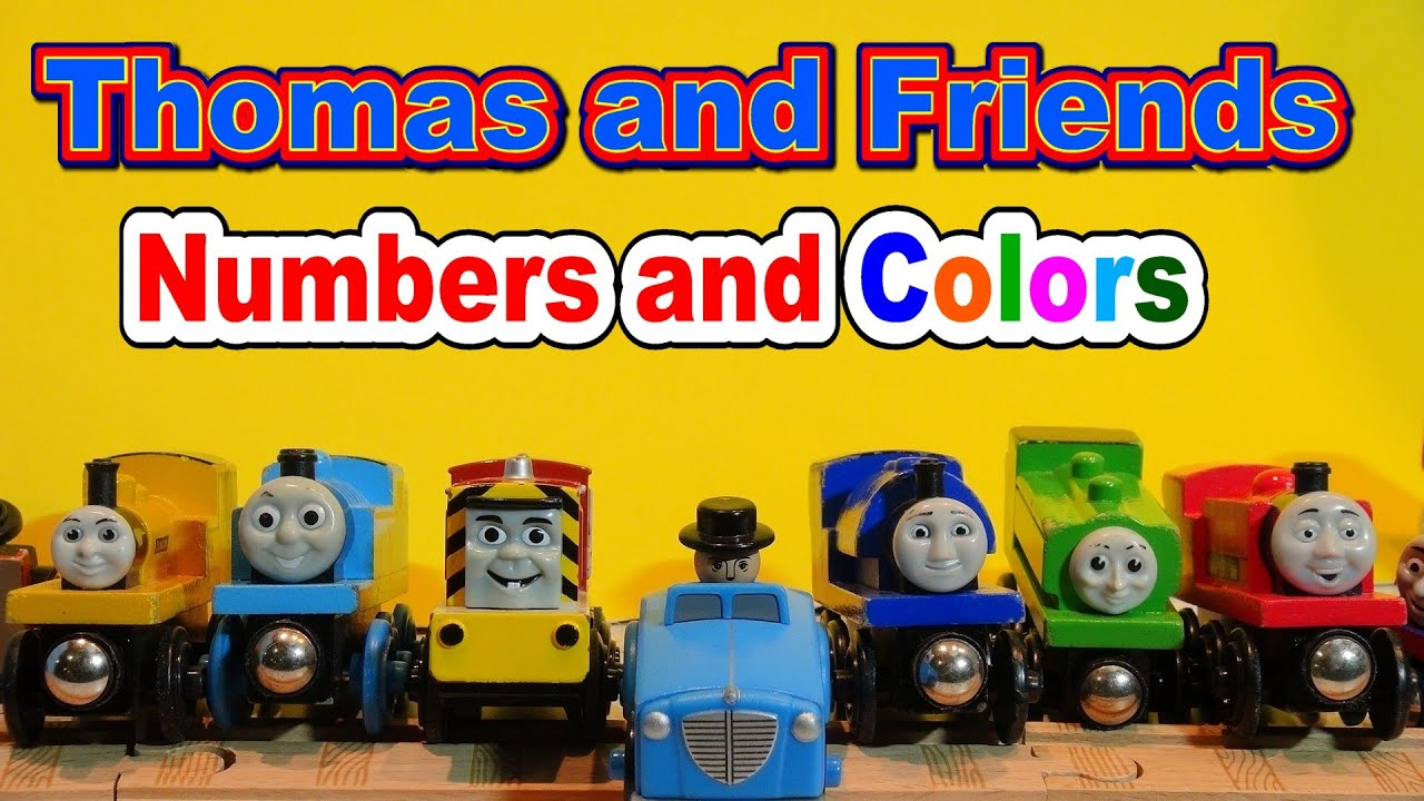 Thomas and Friends, Learn Numbers and Colors with Thomas The Train ...