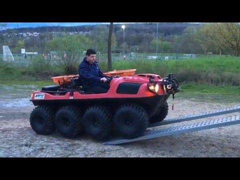 Argo 8x8 - Amphibien ATV by Feuerwehrstore