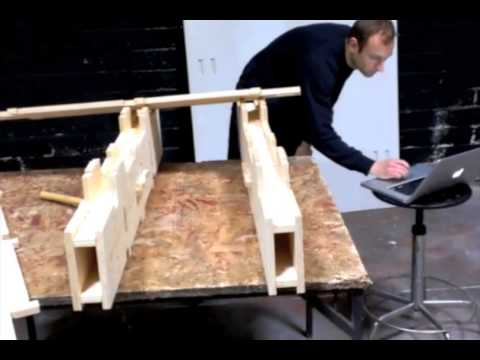 Wikihouse Wall Section Test