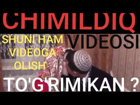 # VIDEONI OXIRIGACHA KO'RING !!! O'ZBEKCHA CHIMILDIQ VIDEO -- SHU NARSA TO'G'RIMI