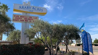 Snowbird Destination - Araby Acres RV Resort, Yuma AZ