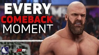 WWE 2K19: Every Comeback Moment in the Game