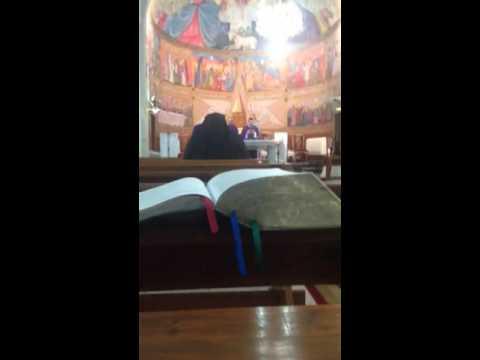 Mass in Gaza