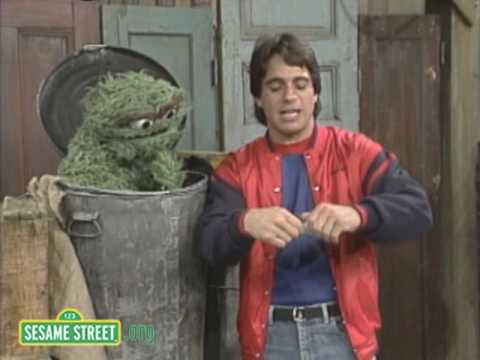 Sesame Street: Tony Danza Gets Mad With Oscar