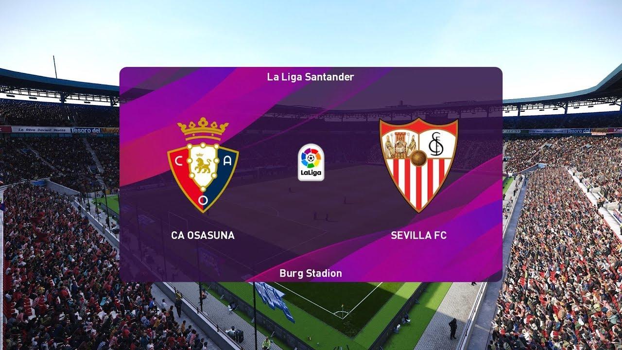 Xem lại Osasuna vs Sevilla, La Liga – 9/12/2019