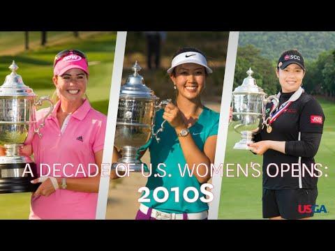 U.S. Women's Open Highlights: 2010s