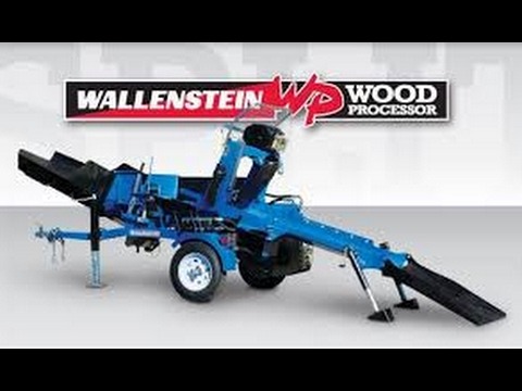 Showing off the Wallenstein WP830 wood processor