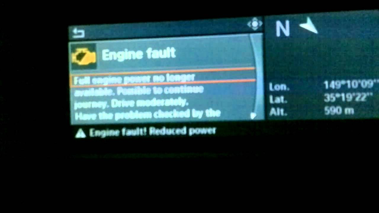 Engine Fault Reduced Power Bmw