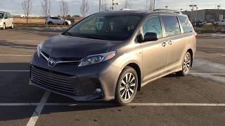 2019 Toyota Sienna XLE AWD Review