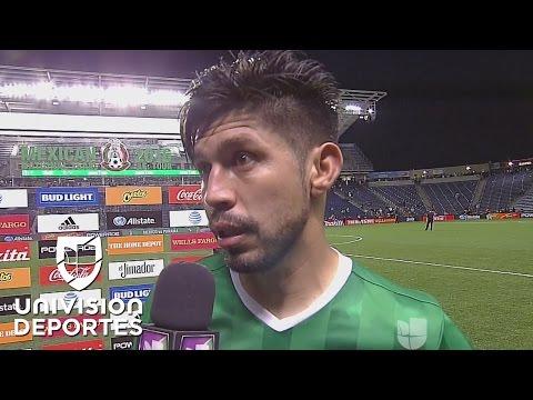 Oribe Peralta dijo que la selección mexicana está lista para jugar ante Estados Unidos