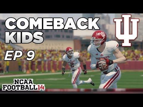 NCAA Football 14 Dynasty | Indiana Hoosiers - 2ND HALF COMEBACK!! - Ep 9