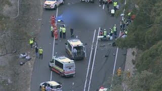 Three dead in horror crash north west of Sydney