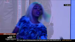 Team Delela perform on of their latest songs on Morning Live