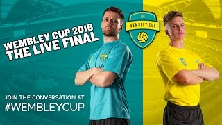 THE WEMBLEY CUP 2016: LIVE FINAL - Spencer FC vs Weller Wanderers