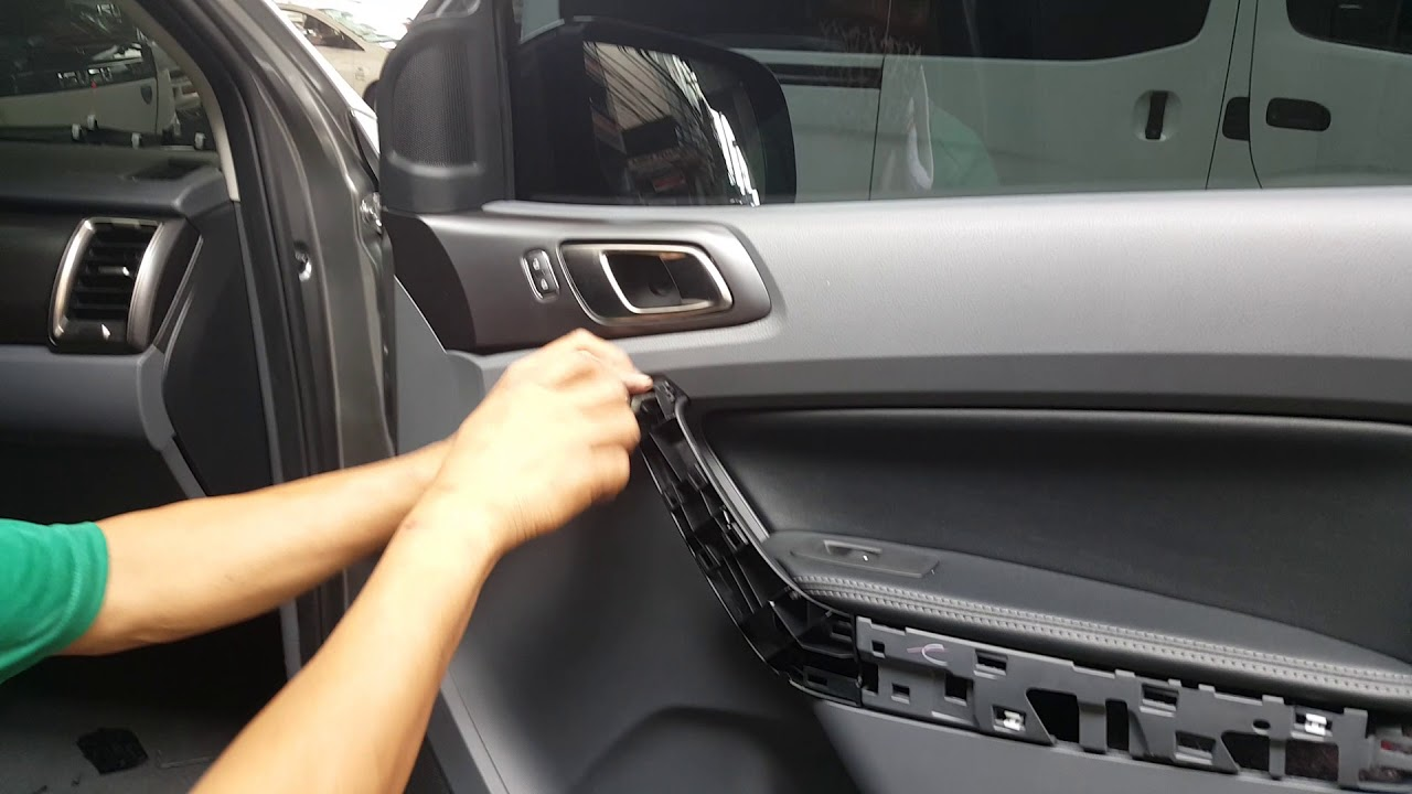 Ford Ranger Front Door Panel Removal Jeff Tan Tutorial