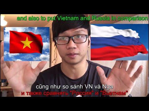 Vlog 1: Russia and Vietnam? Вьетнамец говорит о России и Вьетнаме